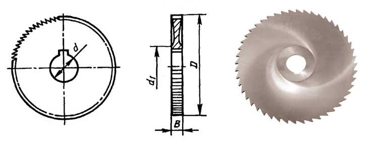 Дисковые фрезы по металлу прорезные оснастка для фрезерования на токарном станке
